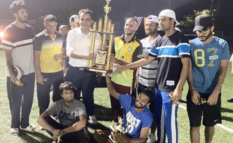 আটলান্টিক সিটির 'টেপবল ক্রিকেট টুর্নামেন্ট' : ব্রুকলিন নাইন এর শিরোপা লাভ