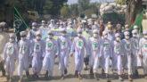গাংনীতে পবিত্র ঈদ-ই-মিলাদুন্নবী (সঃ) পালন উপলক্ষে মিছিল অনুষ্ঠিত