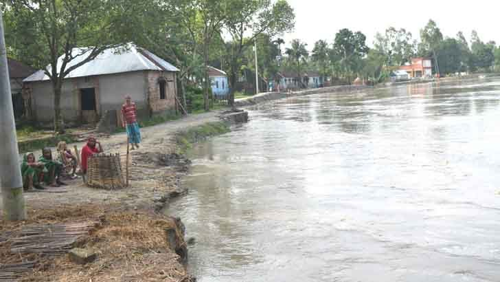 'হামাক নদী ভাঙনের হাত থাকি বাঁচান'