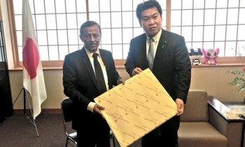 জাপানের পররাষ্ট্র প্রতিমন্ত্রীর সাথে রাষ্ট্রদূত শাহাবুদ্দিন আহমদের সাক্ষাত