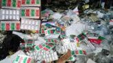 দৌলতপুর উপজেলা স্বাস্থ্য কমপ্লেক্সের ওষুধ এখন ময়লার ভাগাড়ে