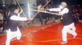 সাঁথিয়ায় গ্রাম বাংলার ঐতিহ্যবাহী লাঠিখেলা অনুষ্ঠিত