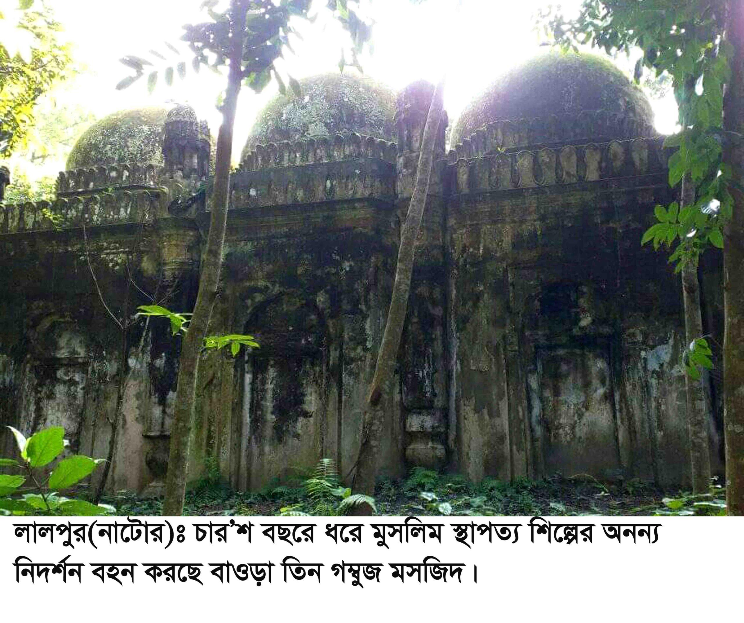 লালপুরের ঐতিহাসিক বাওড়া মসজিদ