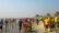 নতুন বছরে কুয়াকাটা সৈকতে পর্যটকদের মিলন মেলা