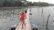 গ্রামবাসীদের তৈরী ভাসমান সেতু বদলে দিয়েছে জীবনচিত্র
