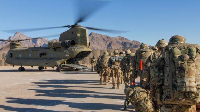 আফগানিস্তান থেকে সেনা সরানো শুরু করেছে যুক্তরাষ্ট্র