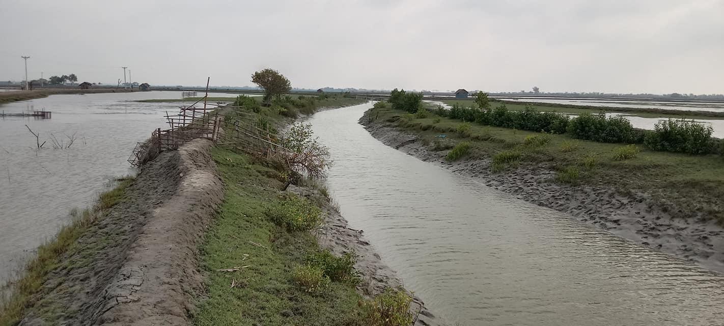 পাইকগাছায় বাইশারাবাদ নদী এখন নালা