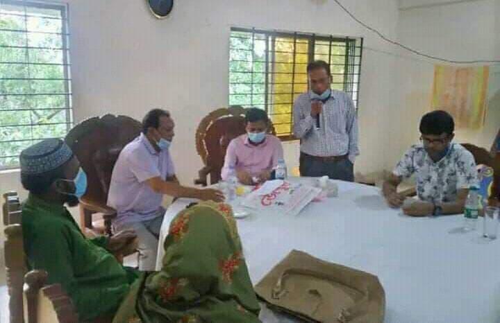 জুড়ীতে উপজেলা নির্বাহী অফিসারকে বিদায় সম্বর্ধনা প্রদান