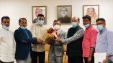 স্পেনে রাষ্ট্রদূতের সাথে নোয়াখালী জেলা সমিতি নেতৃবৃন্দের সৌজন্য সাক্ষাৎ