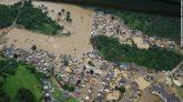 পশ্চিম ইউরোপে ১০০ বছরের রেকর্ড বৃষ্টিপাতে বন্যা, ৪৬ জনের মৃত্যু
