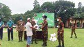 সেনাবাহিনীর মানবিক সহায়তা পেল ১০০০ পরিবার