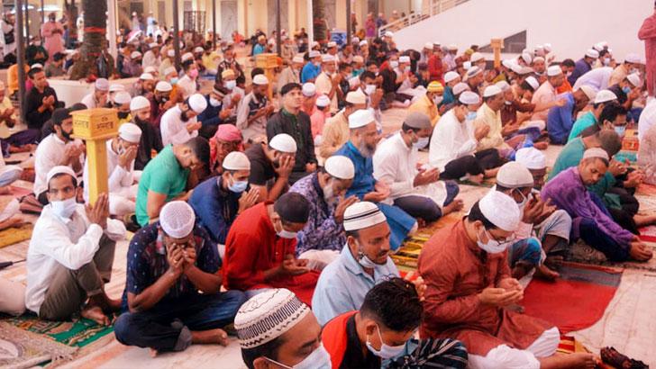 সিলেটে ৪ হাজার মসজিদে ঈদুল আজহার জামাত অনুষ্ঠিত