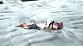 ১২ ঘন্টার ব্যবধানে কুয়াকাটা সৈকতে ফের ভেসে এলো আরো একটি মৃত ডলফিন।।