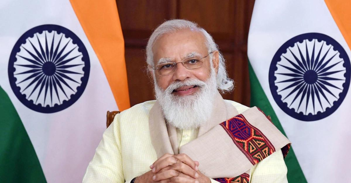 ভারতের প্রধানমন্ত্রী নরেন্দ্র মোদির জন্মদিন আজ