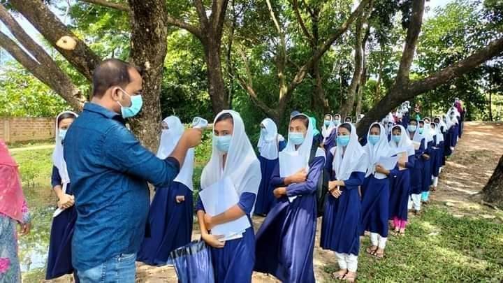 রাজনগরে ১৭৭টি শিক্ষা প্রতিষ্ঠানে ছিল উৎসবের আমেজ