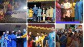 নাচে-গানে নিউজার্সিতে সনাতন ধর্মালম্বীদের সর্ববৃহৎ শারদীয় দূর্গোৎসব